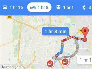 Google Maps ahora ofrece la opción para motocicletas