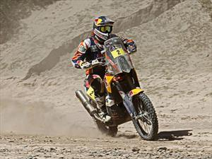 Dakar: Marc Coma lidera prueba con su moto KTM