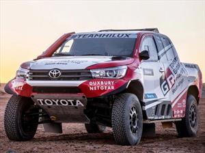 Esto es lo que tiene Toyota para competir en el Dakar 2018