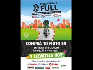 Banco Cetelem lanza una nueva promo para motos