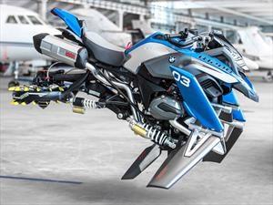 BMW Hover Ride Design Concept, la moto voladora inspirada en LEGO