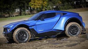 Laffite X-Road es la cruza entre un supercar y un auto del Dakar