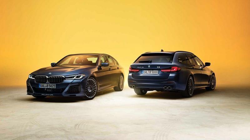 Alpina B5 y D5 S se renuevan siguiendo la misma línea de su primo el BMW Serie 5