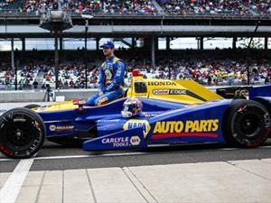 Indy500: Rossi hizo historia