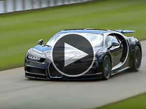 Video: mirá al Bugatti Chiron en acción