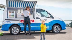 Nissan e-NV200 se transforma en el camión de helados del futuro