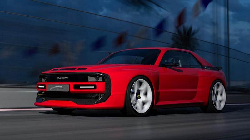 E-Legend EL1, un homenaje eléctrico al Audi Sport Quattro