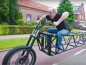 Esta es la bicicleta más larga del mundo