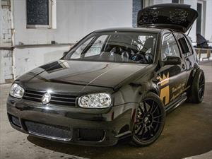 ¿Un Volkswagen Golf con el motor V10 de Lamborghini?