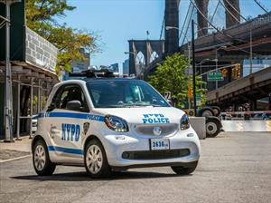 smart fortwo es la nueva patrulla de New York City