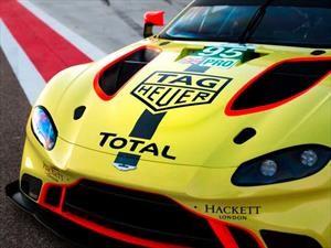 Con el spónsor de TAG Heurer, Aston Martin se prepara para Le Mans