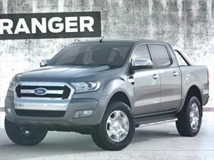 Ford devela el facelift de la nueva Ranger