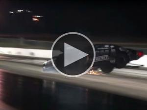 Video: Choca un Camaro con 3,000 hp durante arrancón