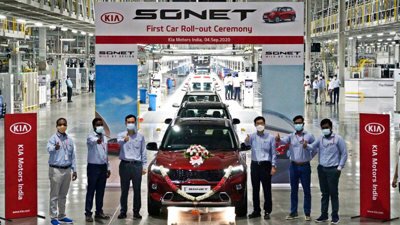El KIA Sonet ya está en producción y se acerca a Chile