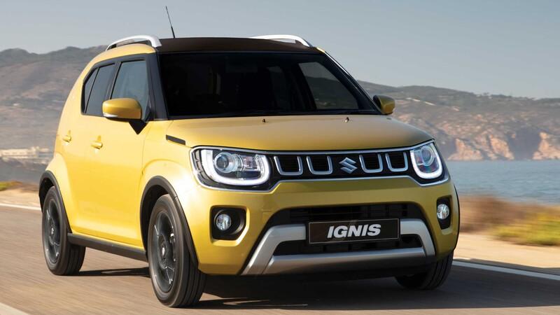 Suzuki Ignis Amarillo Solar 2021, el verdadero sol de México, es un nano SUV japonés