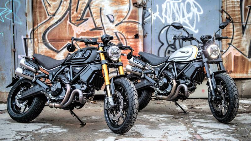 Lanzamiento Ducati Scrambler 1100 Pro y Sport Pro