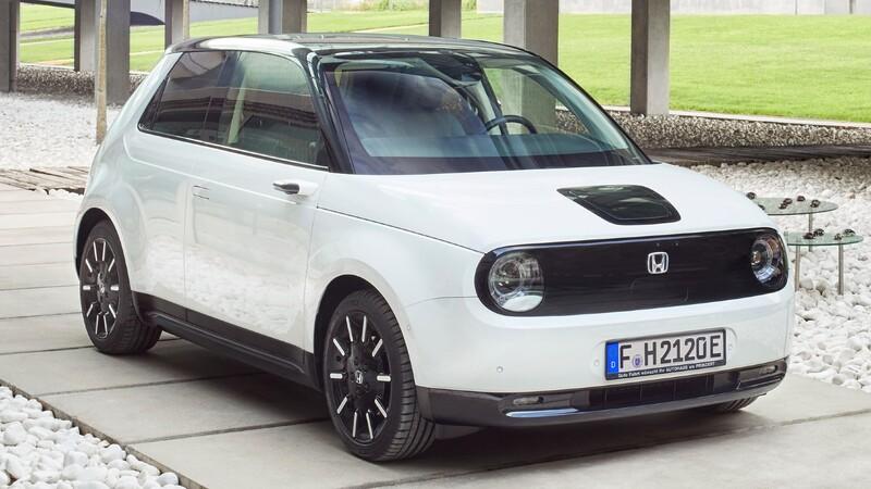 Honda e es elegido el auto urbano del año