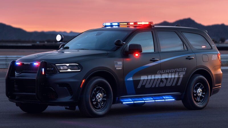 Dodge Charger y Durango policiales se renuevan