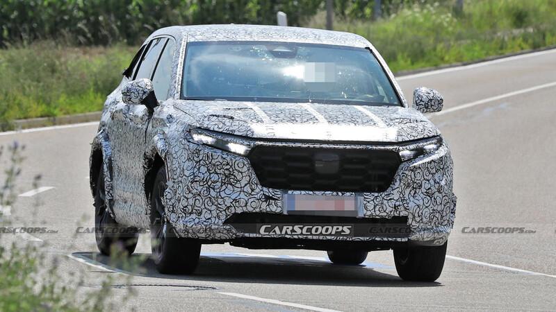 Espían al nuevo Honda CR-V
