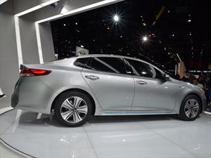 Kia Optima Hybrid 2017 es 10 por ciento más eficiente