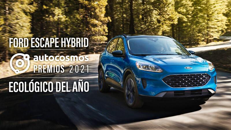 Premios Autocosmos 2021: el Ford Escape Hybrid es el Vehículo Ecológico del Año