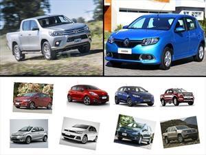 Los 10 autos más vendidos en Argentina en Enero de 2017