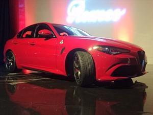 Alfa Romeo Giulia 2017 debuta