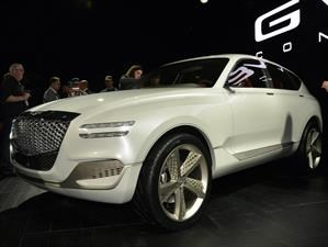 Genesis GV80 Concept, próximamente un SUV más