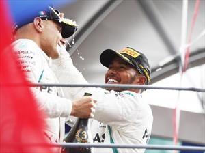 2018 F1: Mercedes gana en Monza