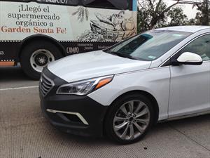 Hyundai Sonata 2015 espiado en México