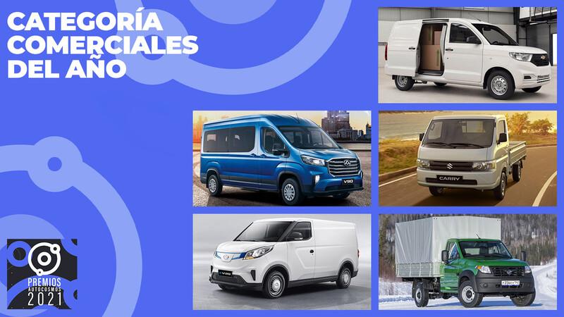 Premios Autocosmos: los candidatos al vehículo comercial de 2021