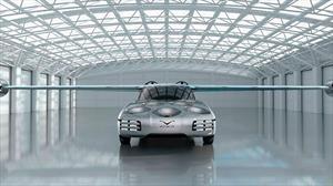 NFT Aska es un automóvil híbrido de conducción autónoma que además vuela