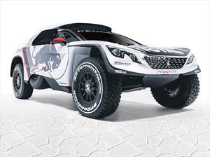 Peugeot se prepara para el Dakar con el nuevo 3008 DKR