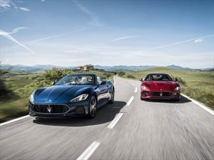 Maserati Gran Turismo y Gran Cabrio 2018, más modernos en diseño y tecnología