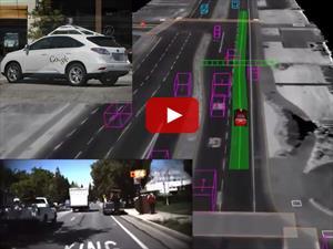 Google nos muestra cómo funcionan sus vehículos autónomos