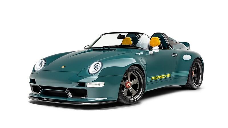 993 Speedster Remastered por Gunther Werks: Así es el 911 que junta al pasado con el presente