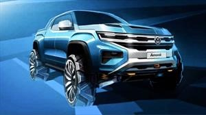 Volkswagen nos muestra un adelanto de la nueva Amarok