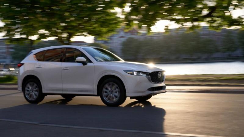 Mazda CX-5 2022: nueva imagen y mejor experiencia de manejo