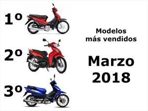 Top 10: Los modelos de motos más vendidos en el mes de marzo