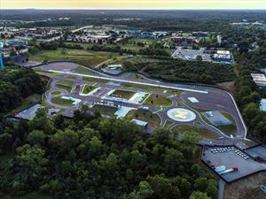 MCity, la ciudad para probar vehículos autónomos