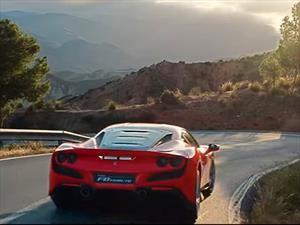 Ferrari F8 Tributo en acción