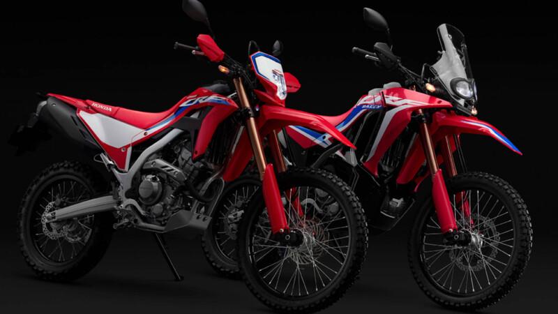 Honda CRF250L y CRF250L Rally 2021: Renovación profunda