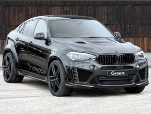 BMW X6 M Typhoon por G-Power, una creación explosiva