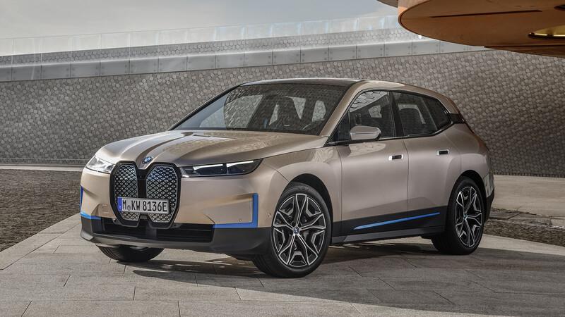 BMW iX 2021, un SUV futurista, eléctrico, lujoso y sustentable que logra 600 km de autonomía