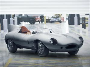 Jaguar D-Type vuelve a la vida tras 60 años