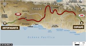 Dakar: Arranca la etapa 8