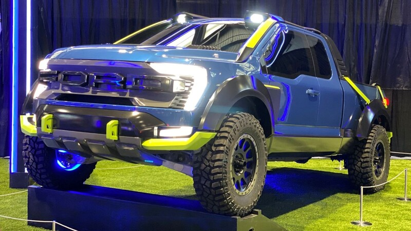 Ford F-150 Rocket League Edition, la pickup del mundo virtual hecha real