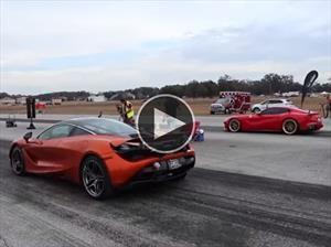 Video: Ferrari F12berlinetta vs McLaren 720S se enfrentan en un pique