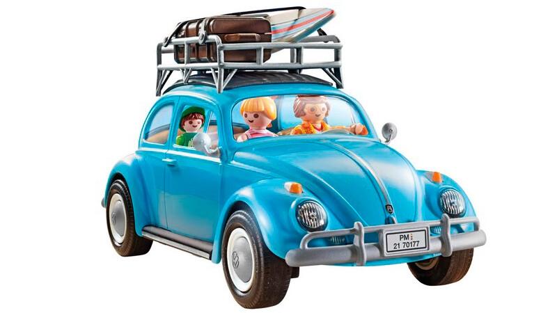 Volkswagen Escarabajo y Kombi, a la manera de Playmobil