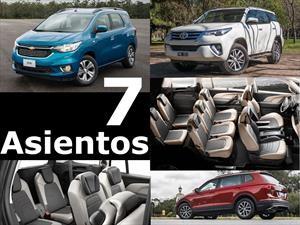 Todos los vehículos de 7 asientos o más que podés comprar en Argentina